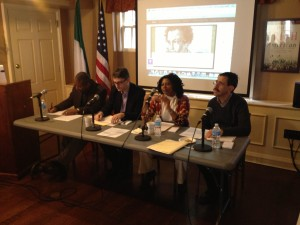 Day Two Panel | Michael Gomez, Mark Galeotti,<br />Cheryl Sterling & Fred Cooper
