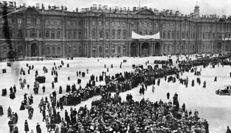 1917 Film Storming of the Winter Palace Header