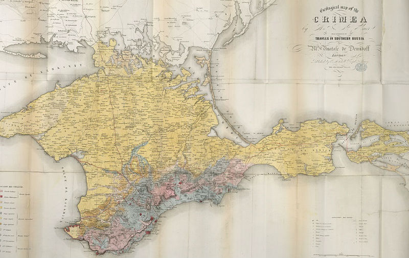 Crimea_Geological_Map_1853_low