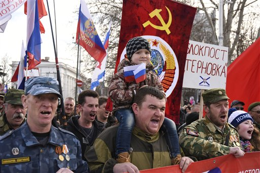 Crimea Defenders of the Fatherland Day