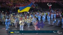 Ukraine's 2016 Paralympic team, with Valery Sushkevych at center