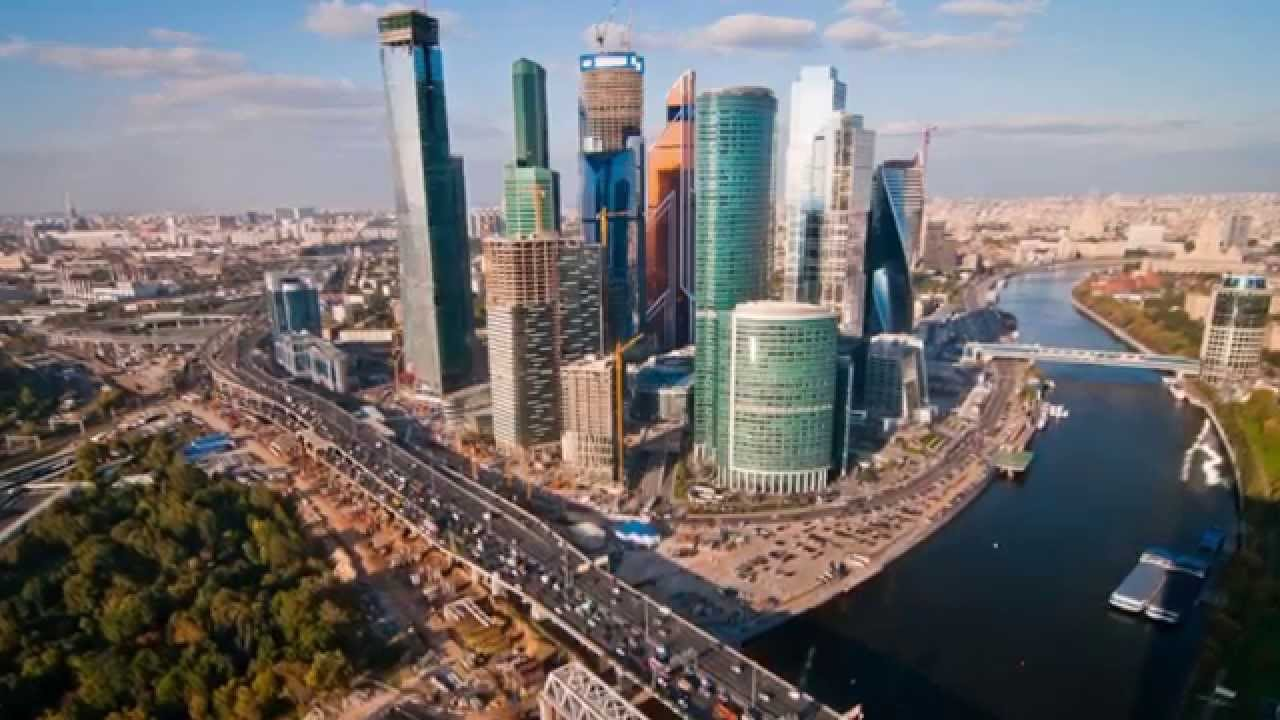 Moscow Skyline Nyu Jordan Center